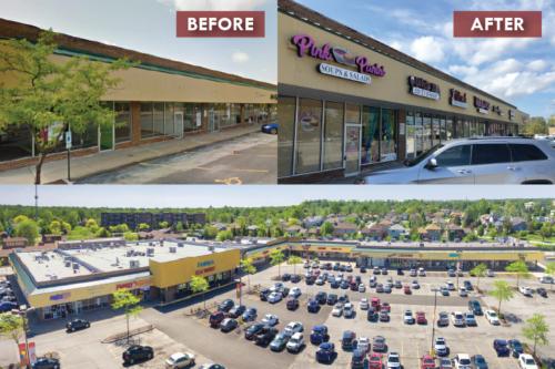 Before and After Hazel Crest Center